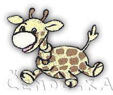 Nažehlovací aplikace žirafa
