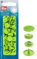 Plastové patentky Color snaps 12,4 mm zelená