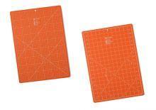 Podložka na patchwork 30x45 cm oranžová