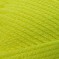 Ručně pletací příze Lada Luxus 50010 žlutá neon