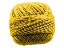 Vyšívací příze PERLOVKA 1682-sytě žlutá