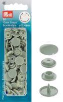 Plastové patentky Color snaps 12,4 mm šedá