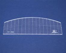 Quiltovací pravítko oblouk 3 výška 3mm