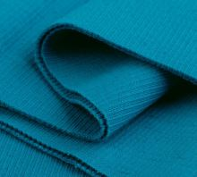 Náplety elastické žebrované - tunel 16x80 cm zeleno modrá