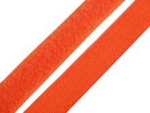 Suchý zip komplet šíře 2 cm oranžová