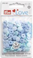 Prym LOVE mini plastové patentky Color snaps sv. modrý mix