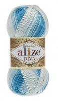 Příze Alize Diva Batik 2130