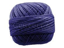 Vyšívací příze PERLOVKA 5562-sytě modrá