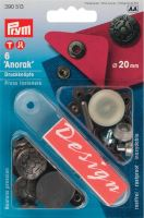 Knoflík stiskací ANORAK 20 mm STARONIKL