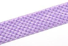 Síťovaná pruženka 7cm tutu sv. fialová