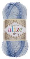 Příze Alize Diva Batik 3282