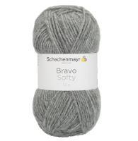 Příze Bravo Softy šedá
