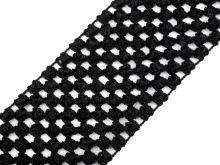 Síťovaná pruženka 7cm tutu černá