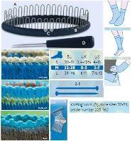 Nástroj na pletení ponožek velikost M