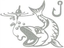 Nažehlovací aplikace reflexní rybaření