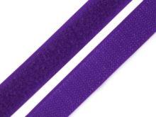 Suchý zip komplet šíře 2 cm modrofialová