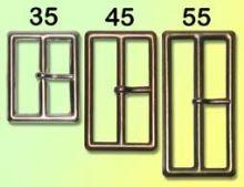 Přezka opasková 35mm s trnem Staromosaz