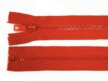 Zdrhovadlo zip kostěný 45 cm dělitelný kari