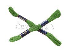 Vyšívací příze MOULINE 6162 - artyčok zeleň