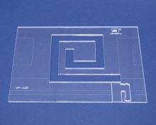 Quiltovací pravítko bordura 13 výška 5mm