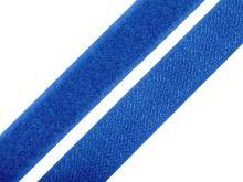 Suchý zip komplet šíře 2 cm královská modrá