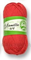 Příze camilla 6/4 červená 5319