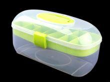 Box plastový na příslušenství zelený
