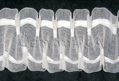 Záclonovka 50mm pravidelně řasená