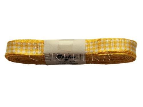 Stuha žakárová 10mm kostka