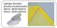 Aplikátor šikmého proužku na jednoducho 40 mm